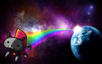 Nyan cat [2] wallpaper 1920x1200 jpg
