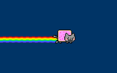 Nyan cat [5] wallpaper
