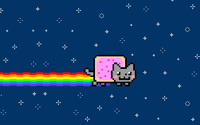 Nyan cat [4] wallpaper 2560x1600 jpg