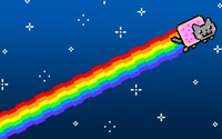 Nyan cat [3] wallpaper 1920x1080 jpg