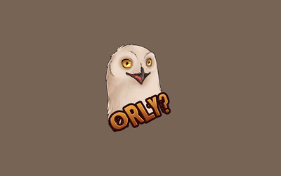O RLY Owl wallpaper