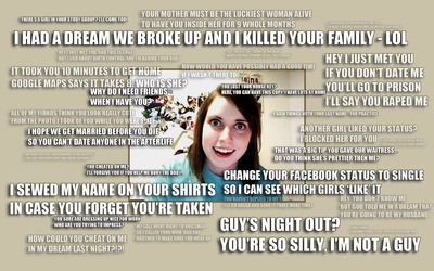 Overly Attached Girlfriend wallpaper