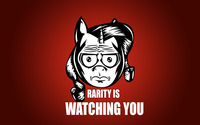 Rarity is watching you wallpaper 2560x1600 jpg