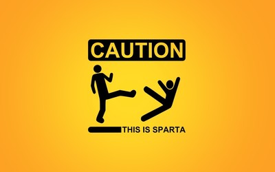 This is Sparta wallpaper