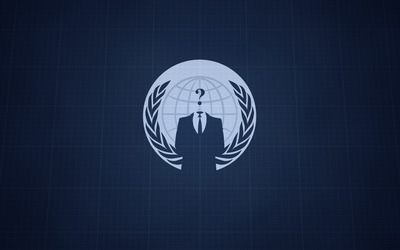 Who is Anonymous wallpaper
