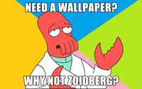 Why not Zoidberg? wallpaper 2560x1600 jpg