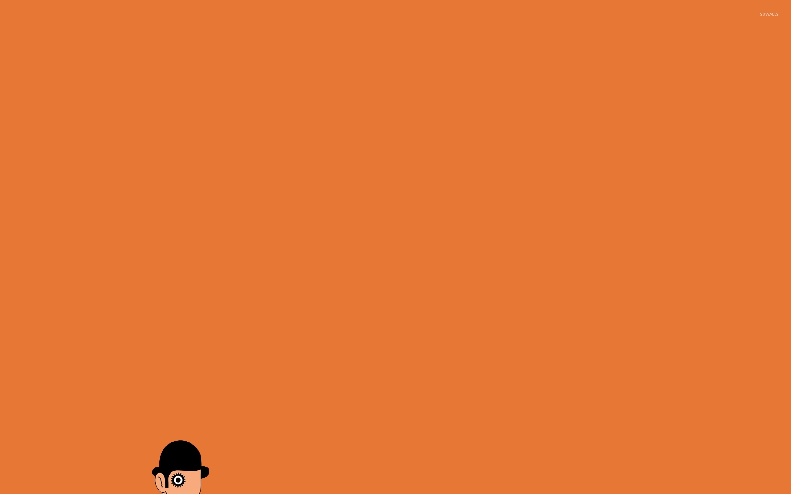 A Clockwork Orange wallpaper - Minimalistic wallpapers ... A Clockwork Orange Wallpaper 1920x1080