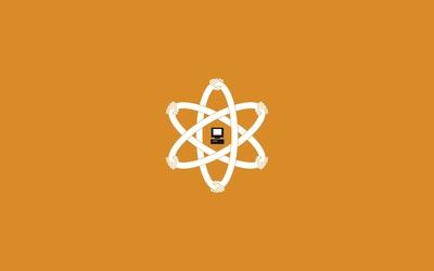 Atomic PC wallpaper