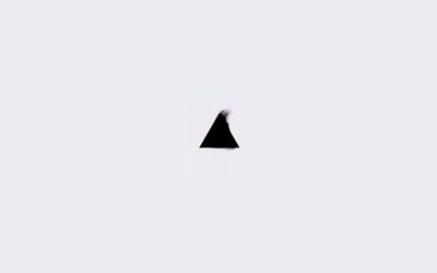 Black triangle wallpaper