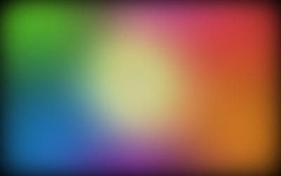 Blurry colorful shades wallpaper