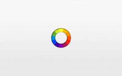 Color ring wallpaper