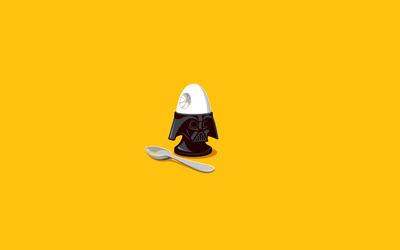 Darth Vader egg holder wallpaper