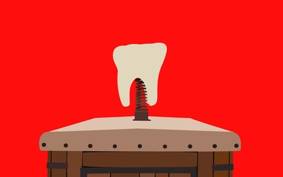Dentist cart tooth - Django Unchained wallpaper