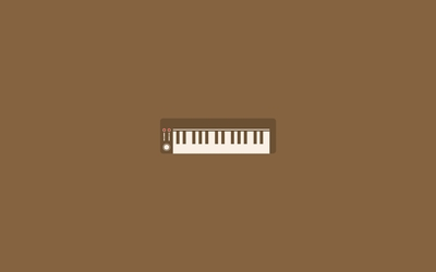 Electric piano wallpaper