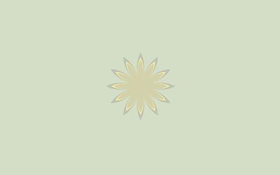 Flower with golden petals wallpaper