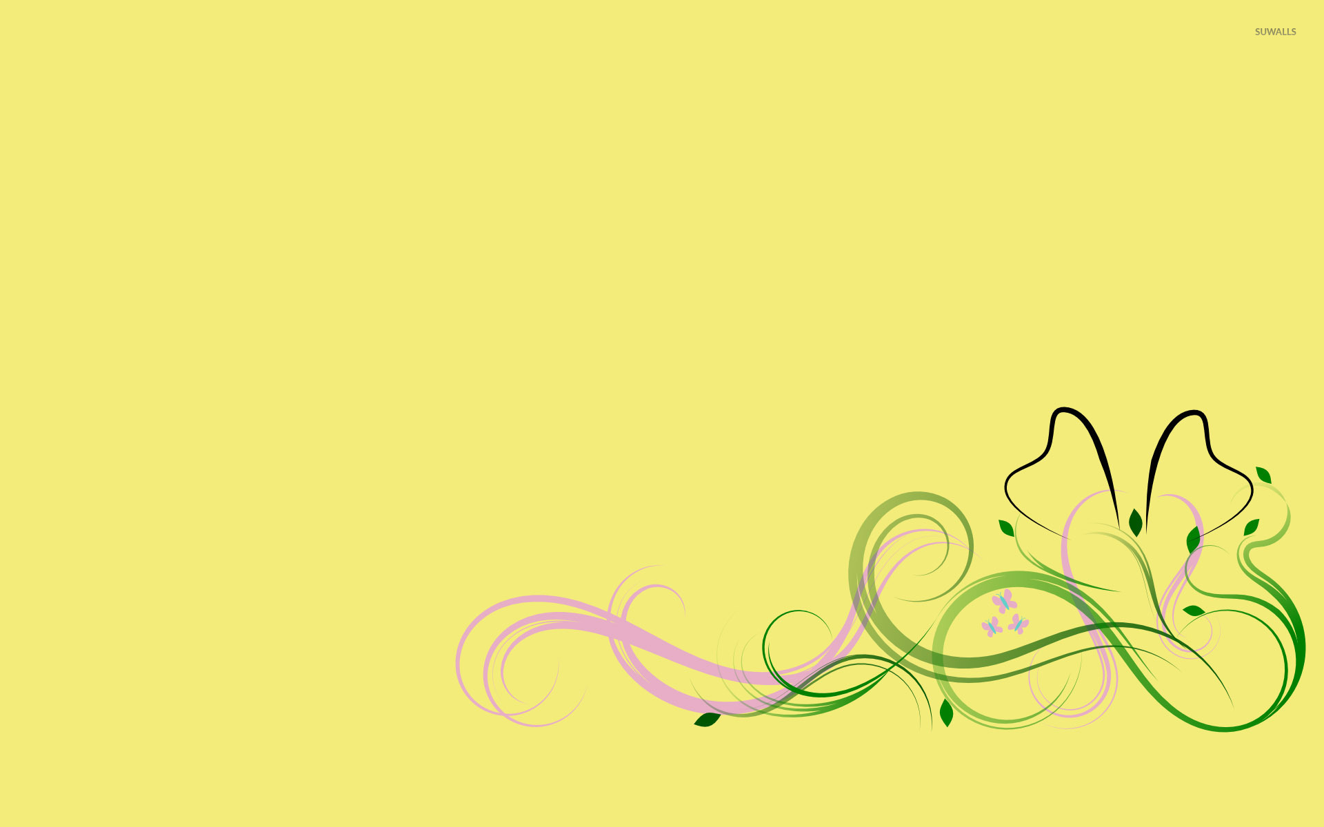 fluttershy my little pony wallpaper minimalistic
