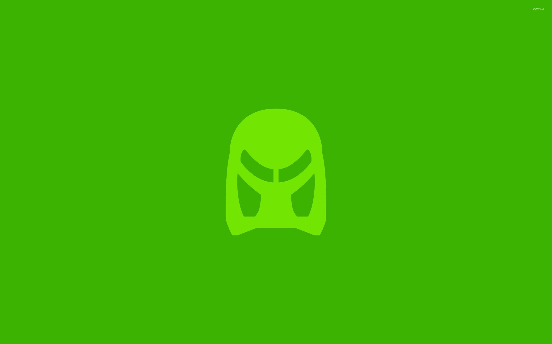 Green Bionicle Lego Mask Wallpaper