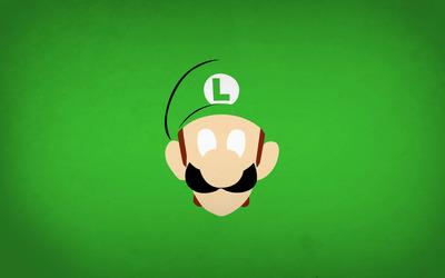 Luigi - Mario Bros wallpaper