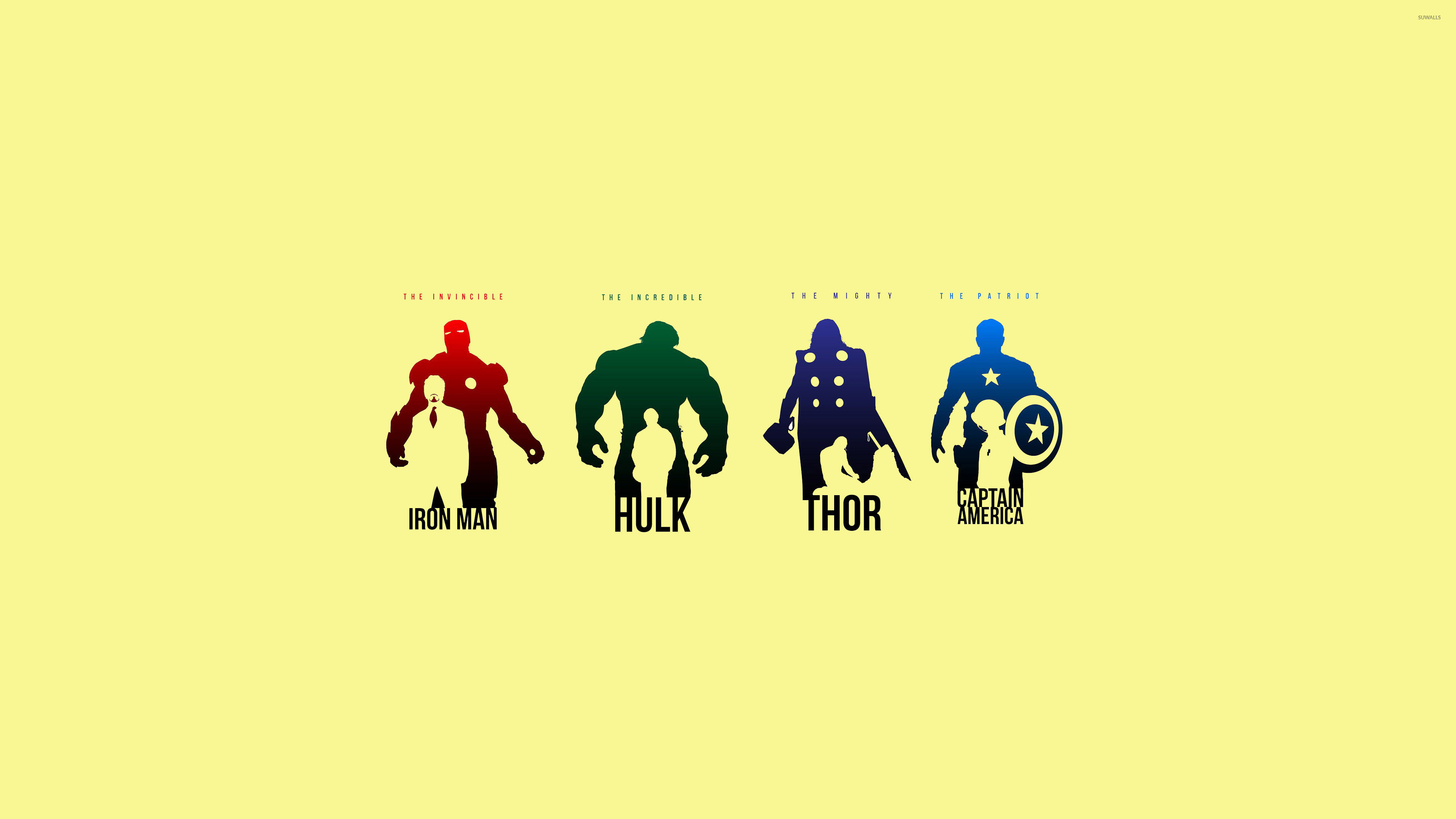Minimalist Avengers Wallpaper Minimalistic Wallpapers 28053