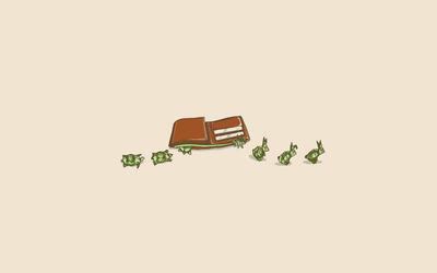 Money animals wallpaper