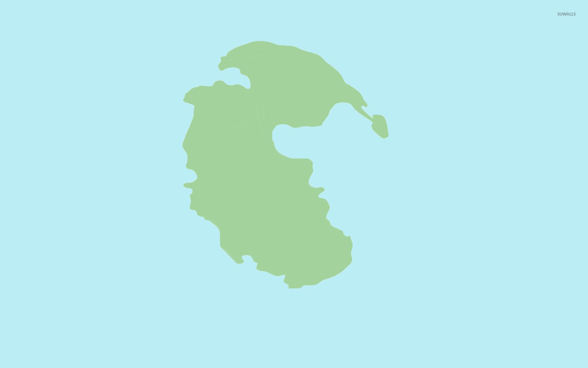 pangaea wallpaper - minimalistic wallpapers