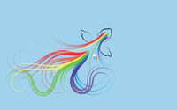 Rainbow Dash - My Little Pony wallpaper 1920x1200 jpg