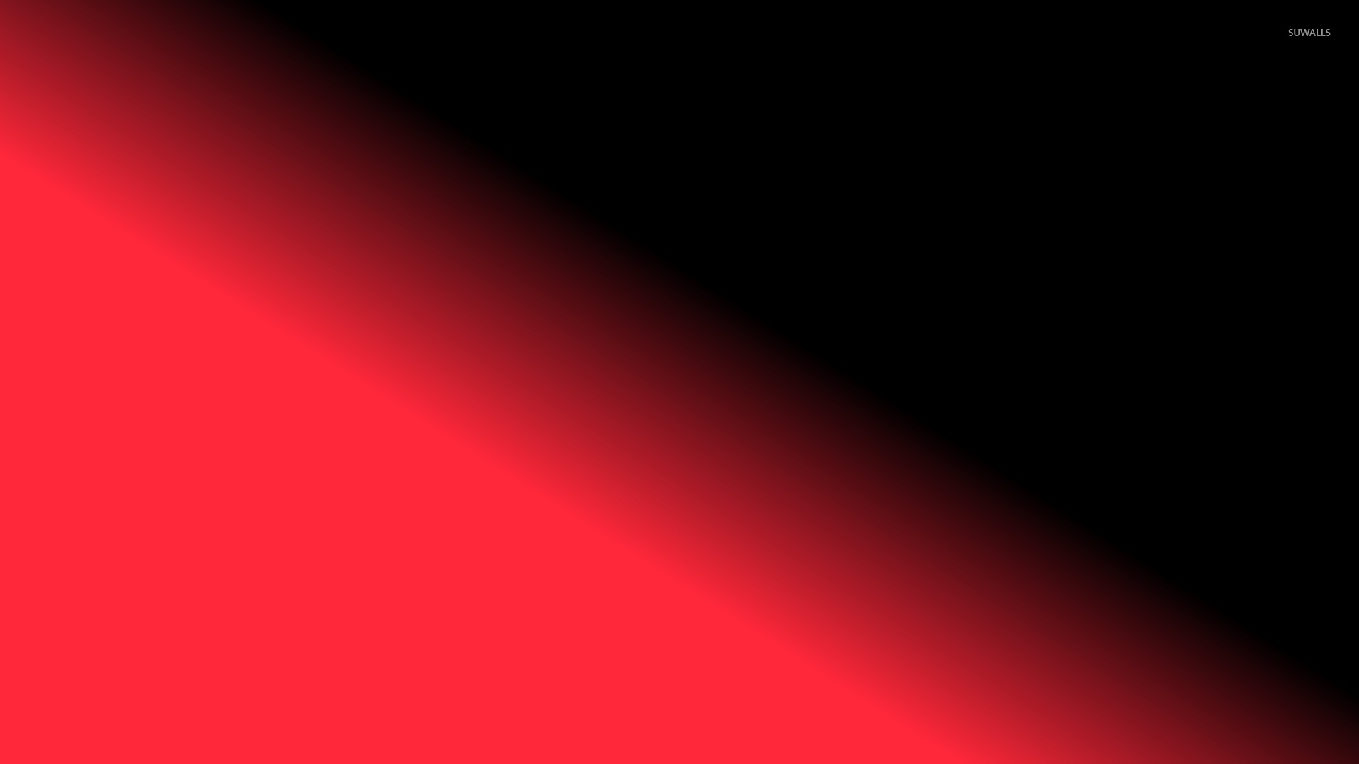 red sun glowing into the darkness wallpaper minimalistic