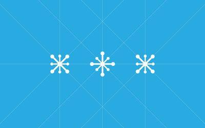 Snowflakes [20] wallpaper