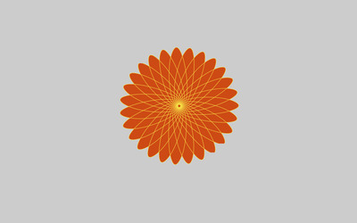 Spirograph flower wallpaper