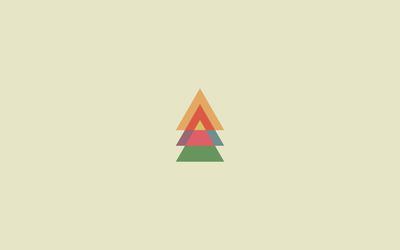 Triangles [2] wallpaper