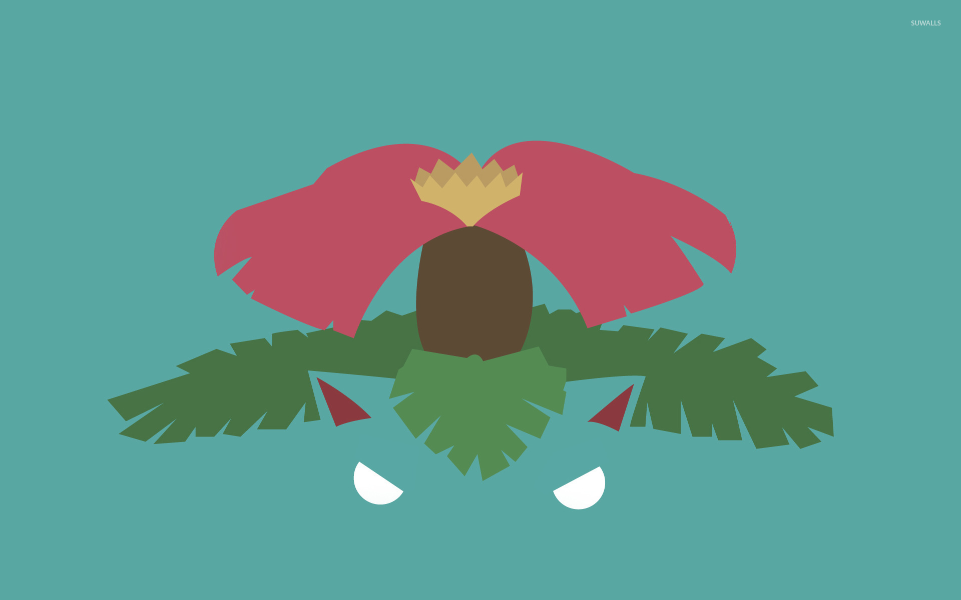Venusaur Pokemon Wallpaper Minimalistic Wallpapers 21141