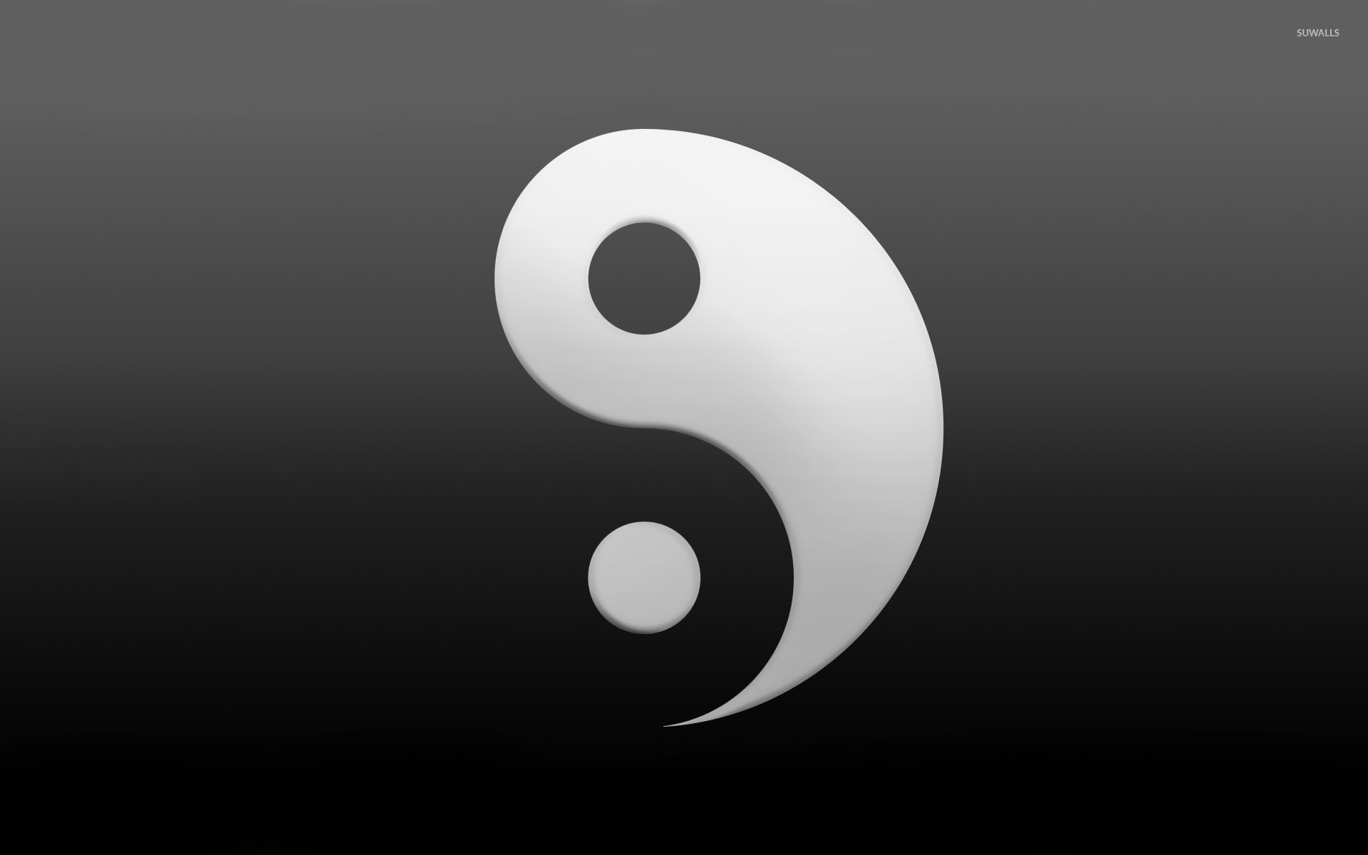 yin and yang wallpaper minimalistic wallpapers 29028