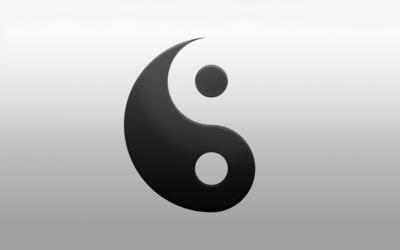 Yin and yang [2] wallpaper
