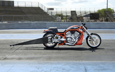 2006 Harley-Davidson Destroyer side view wallpaper