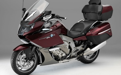 2013 maroon BMW K1600GTL wallpaper