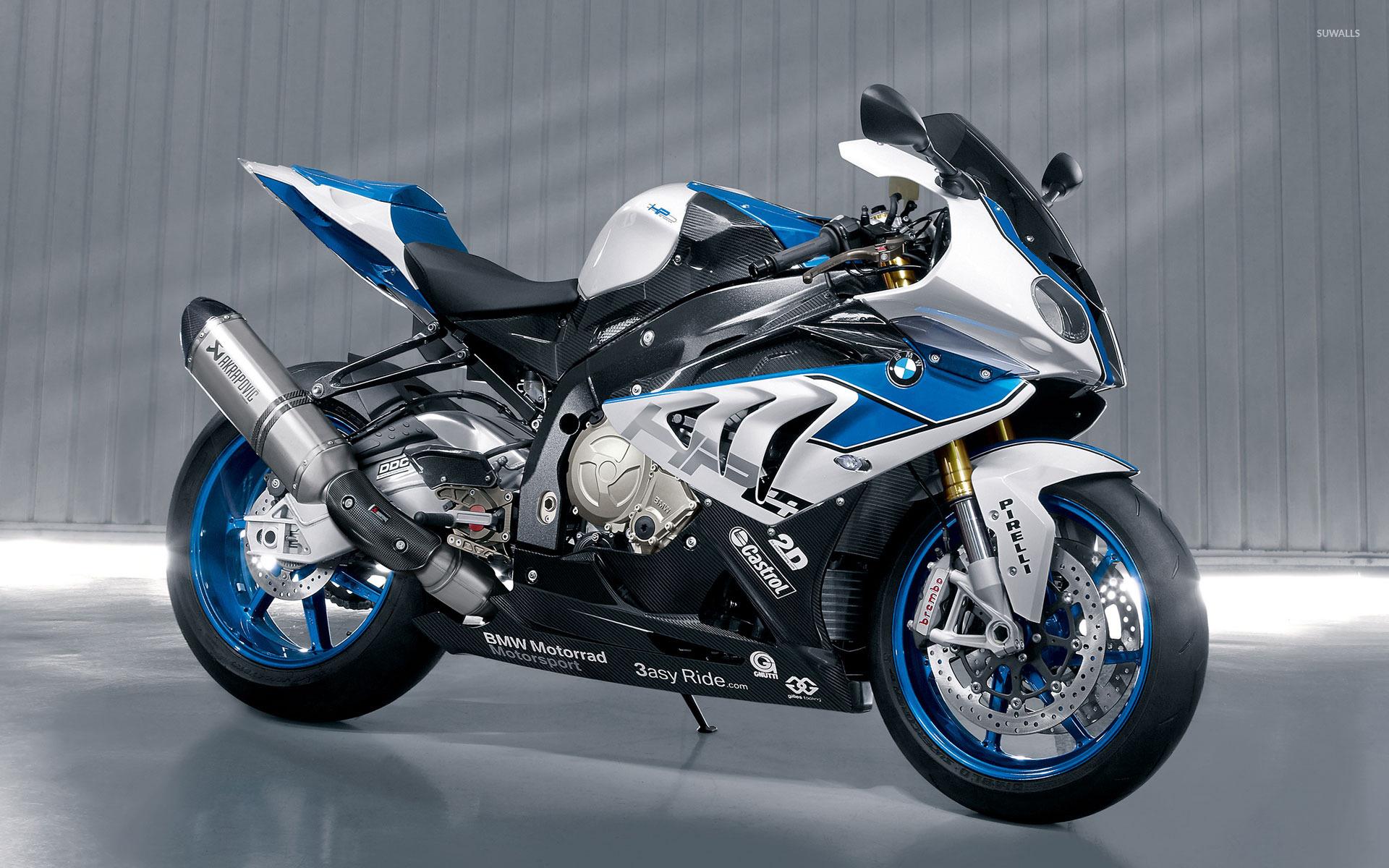 мотоцикл bmw синий скачать