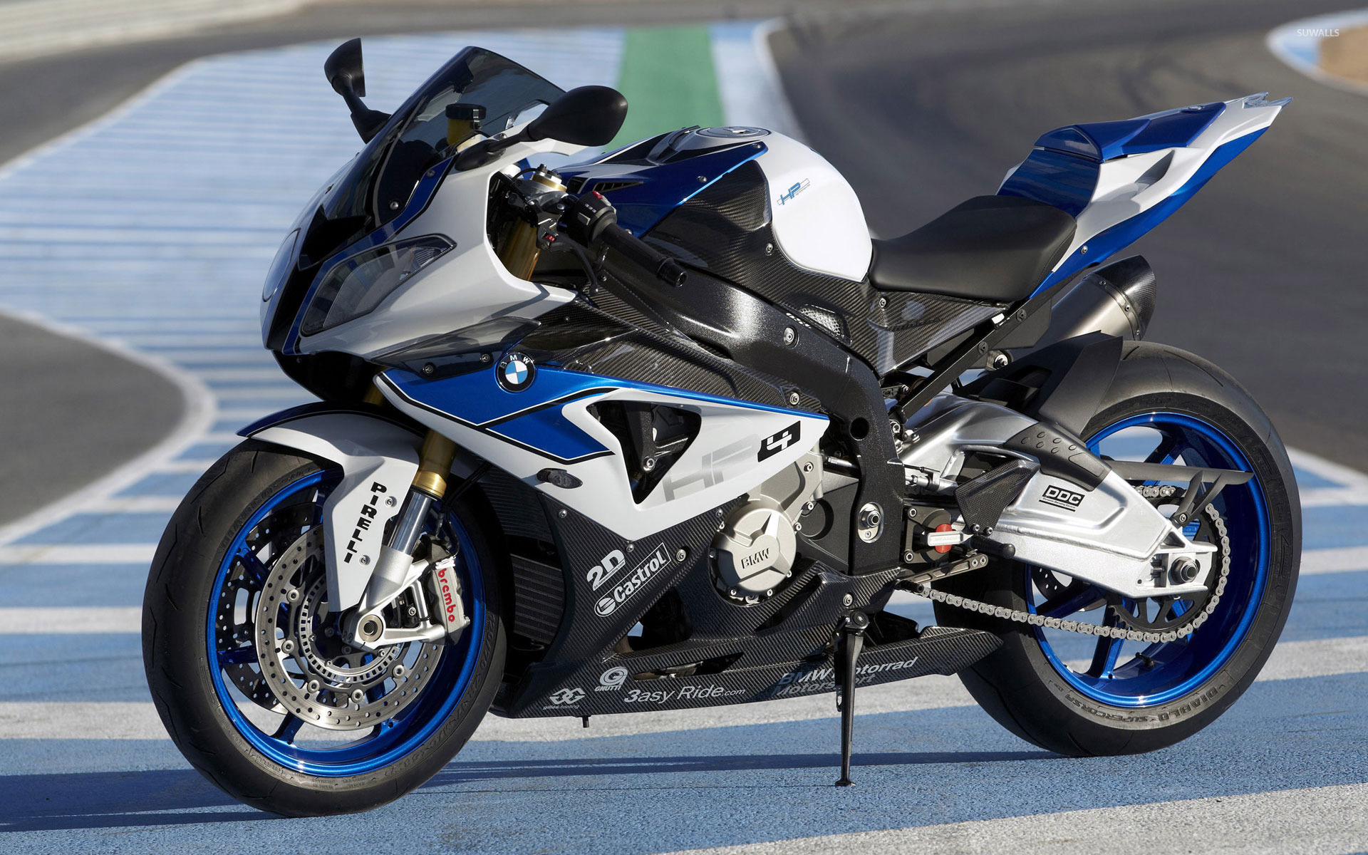 2013 BMW S1000RR HP4 Wallpaper