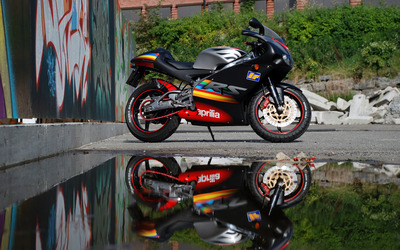 Aprilia RS125 wallpaper