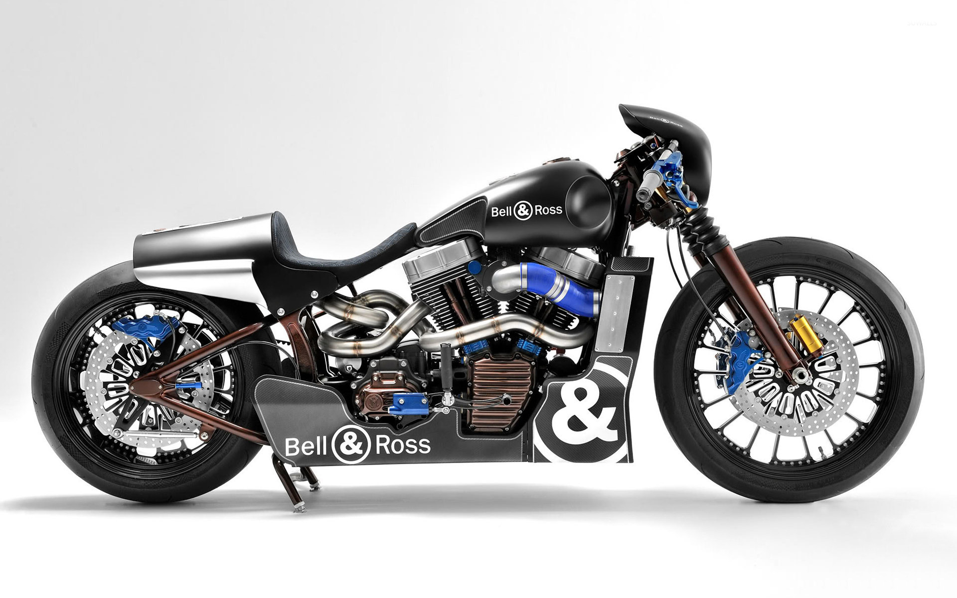 bell ross harley davidson side view wallpaper. Black Bedroom Furniture Sets. Home Design Ideas