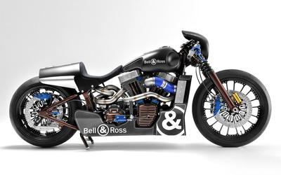 Bell & Ross Harley-Davidson side view wallpaper