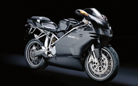 Black Ducati 749 side view wallpaper 1920x1200 jpg