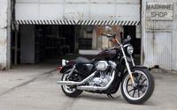 Black Harley-Davidson Sportster wallpaper 2560x1600 jpg