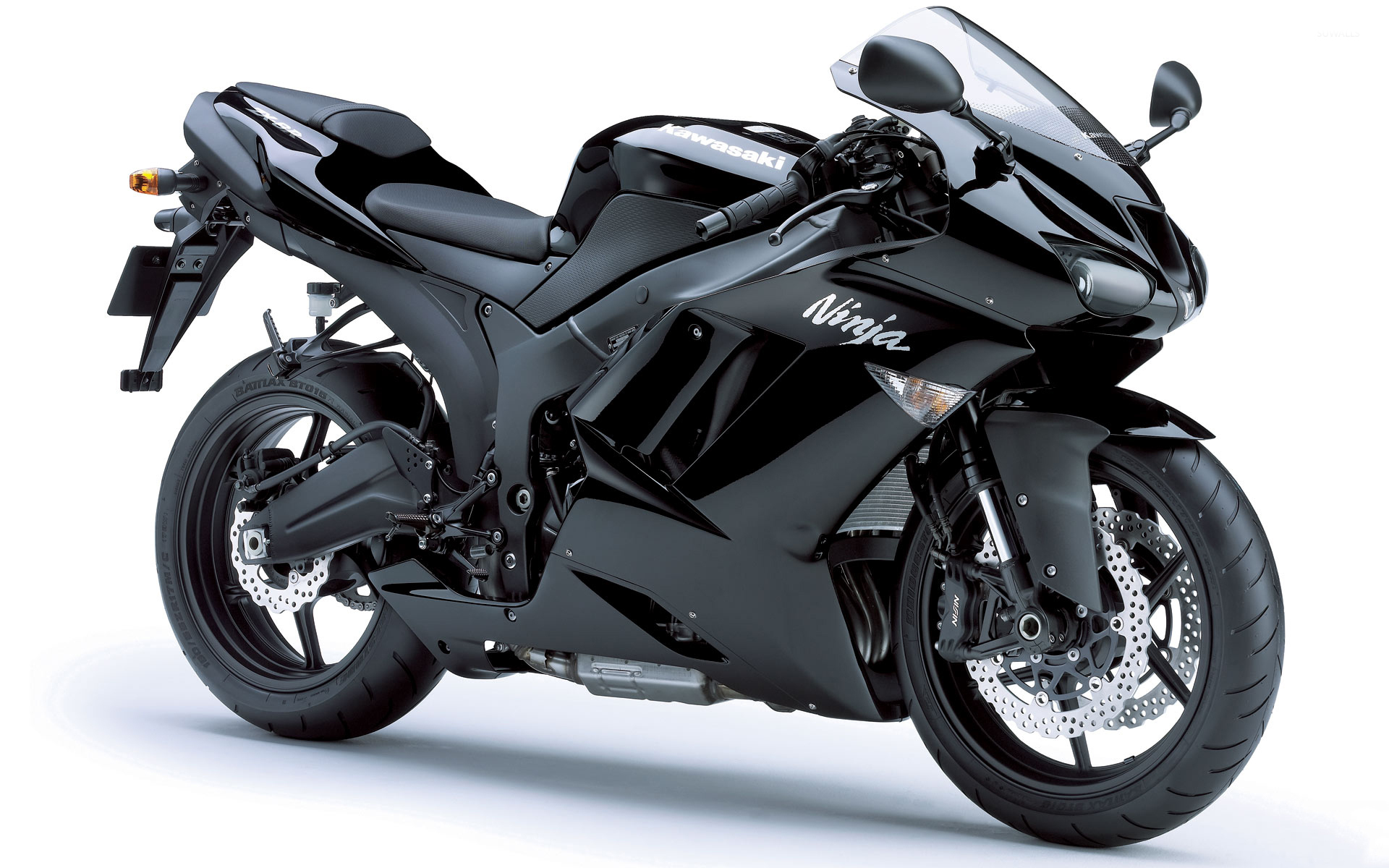 Black Kawasaki Ninja Zx 6r Wallpaper Motorcycle Wallpapers 52841