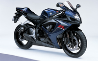 Dark blue Suzuki GSX-R750 wallpaper 1920x1200 jpg
