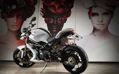 Ducati Monster 1100 EVO [2] wallpaper