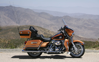 Harley Davidson Electra Glide Ultra Classic wallpaper