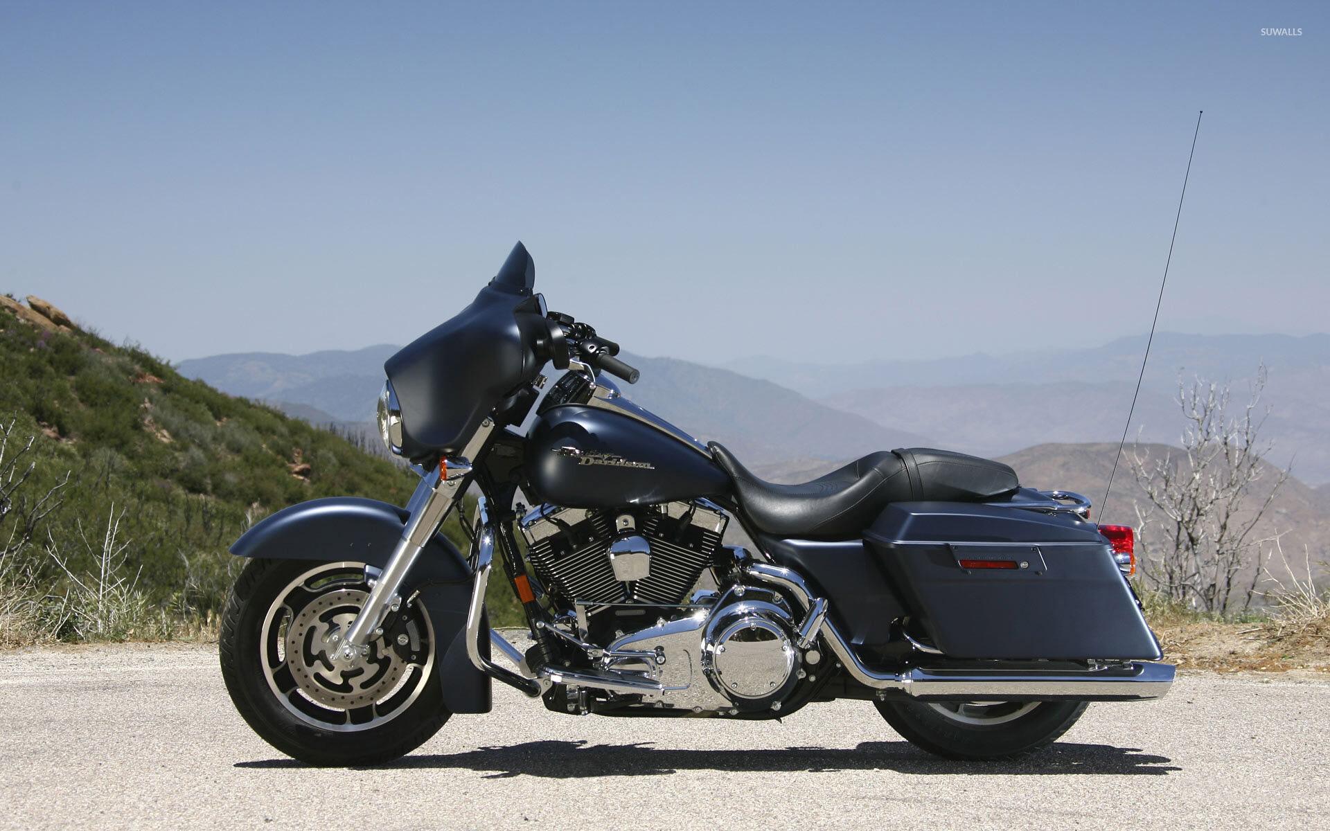 motorcycle harley street glide wallpaper -#main