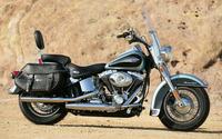 Harley Davidson FLSTC Heritage Softail Classic wallpaper 1920x1200 jpg
