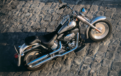 Harley Davidson FLSTFI Softail Fat Boy [2] wallpaper
