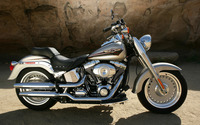 Harley Davidson FLSTFI Softail Fat Boy wallpaper 1920x1200 jpg